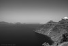 Caldera (Paterdimakis) Tags: santorini volcano view caldera sea see high fuji black white aegean greece travel beautiful light shadow sky
