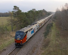 AMTK 156 leading (Michael Berry Railfan) Tags: amtrak coopersville ny newyork canadiansub cp canadianpacific dh delawarehudson ge generalelectric p42dc toysfortots toysfortotstrain amtk156 heritageunit