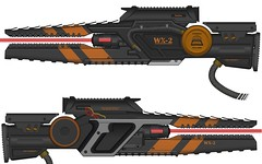 High Energy Laser Rifle (Wouter Kroon) Tags: energy concept gun weapon rifle laser