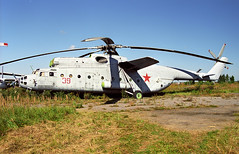 39 red - Monino Museum 20.08.2001 (Jakob_DK) Tags: mi6 mil milmi6 hook mi6hook mil6 monino centralrussianairforcemuseum 2001 39red sovietairforce mi6vzpu milmi6vzpu