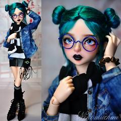 A new gal! (nekomuchuu63) Tags: minifee lucywen doll bjd goth 14 msd