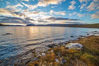 Kilpisjärvi lakeshore