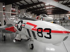 "Grumman F9F6-8P Cougar 1 • <a style=""font-size:0.8em;"" href=""http://www.flickr.com/photos/81723459@N04/38203907936/"" target=""_blank"">View on Flickr</a>"