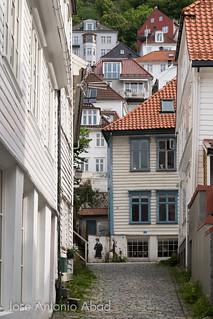 Øvre Korskirkesmauet, Bergen