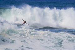 Courage and Skill (fenicephoto) Tags: banzaipipeline northshoreoahu oahu hawaii surfer