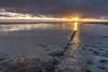 Halig Oland (Markus Trienke) Tags: langenes schleswigholstein deutschland de sunset hallig oland water waddensea coast ocean sea sand mud sky clouds canon eos 5d mkiv reflection