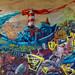 Graffiti Mainz - Bird boat attack