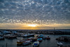 Memories warm you up from the inside... (ola_er) Tags: sunset clouds cloudscape mammatus landscape nikon sunburst sun water memory holiday sky sea boat