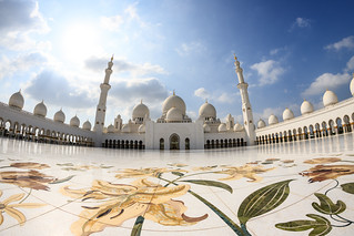 Abu Dhabi, United Arab Emirates - Sheikh Zayed Grand Mosque