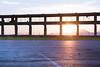 End of Port (Constantine Tottis) Tags: sun brigde landscape cityscape clouds sunset