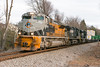 17-7823 (George Hamlin) Tags: virginia manassas norfolk southern railway railroad freight train intermodal ns 214 emd sd70ace diesel locomotive union pacific denver rio grande western heritage unit colors drgw whisle post trees containers double stack photo decor george hamlin photography