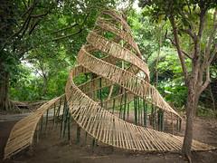 Donde se cruzan los caminos (Jordi NN) Tags: bamboo jordi nn 2017 sculpture rope landart taipei taiwan spiral