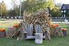 roadside in Pine Plains (Karen Juliano) Tags: adirondack chairs corn stalks hay bales pumpkins autumn roadside pineplains newyork