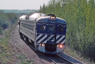 BC Rail Run By on the Fort Nelson River Bridge -- 5 Photos