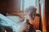 Christina (Martin Neuhof | martin-neuhof.com) Tags: christina girl redhead sensual face portrait homeshooting white bed martinneuhof fotograf leipzig