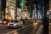 Ginza Night.jpg (AMB PH) Tags: 35mm night photo shoot ginza tokyo japan practice camera nikon d5500 likes dark lowlight opinions rookie boy ph travel worldplaces black nightphotos people cars lights city traffic