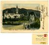 Chiesa del Marter e torre Tonda presso Roncegno, spedita nel 1901. Stengel & Co., Dresden (Ecomuseo Valsugana | Croxarie) Tags: roncegno roncegnoterme marter cartolina 1901 chiesa torre tortonda