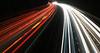Light Trails 1. (MWBee) Tags: m56 motorway lighttrails mwbee nikon d750 daresbury warrington cheshire