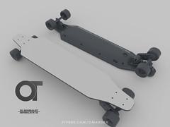 Skateboard_Status_Model_finished_01 (omardex) Tags: photoshop electric product mockup otoy octanerender c4d skateboard skate board