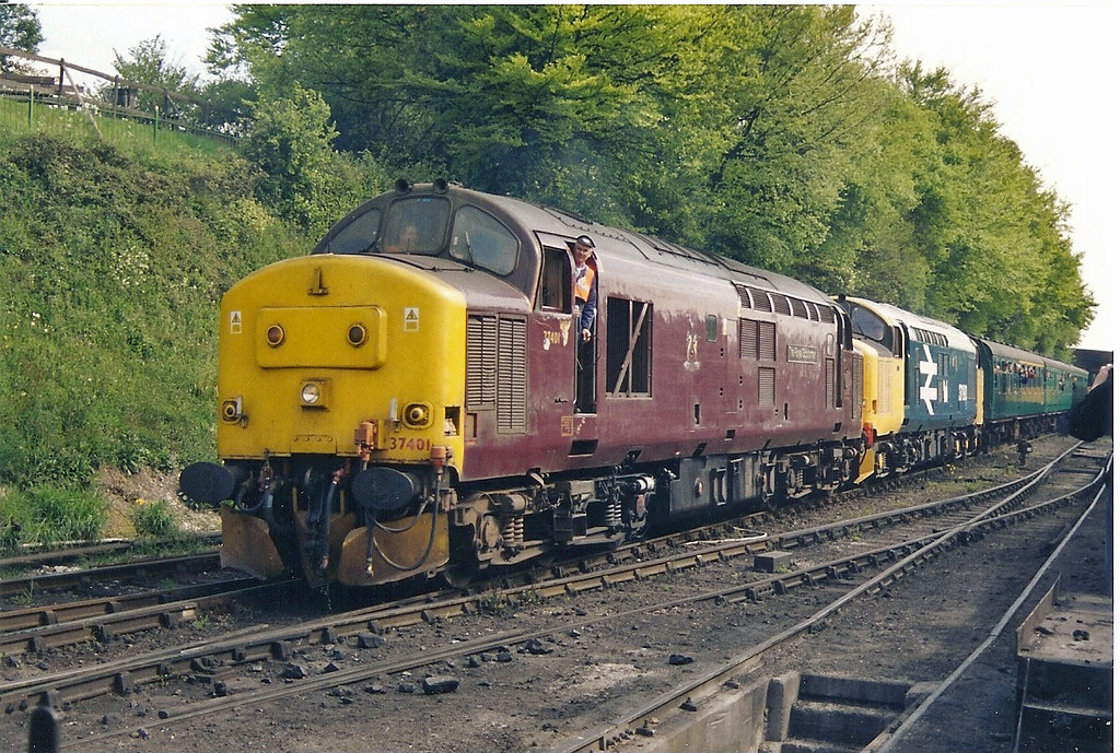 EWS 37401 Rail Photo British Rail