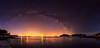 El Abrazo de Naut (Miguel Gomez Photography) Tags: nocturna vialactea milkyway panoramica panoramic estrellas stars night nightscape vigo agua water oceano ocean landscape paisaje nocturno largaexposicion longexposure nikon