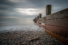 St Bees Groynes (jamesqgordon) Tags: seascape sea seaside groynes beach beaches cumbria pebbles