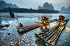 Fishing with cormorants (aeroman3) Tags: christian ortiz pathos travel china shanghai guilin xingping yulong river liriver cormorant fishermen fishing lights birds