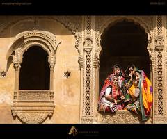 © ANOOP B VYAS PHOTOGRAPHY (AnoopBVyas) Tags: jaisalmer rajasthan india incredible culture traditional ladies women marvad fort patwon ki haveli