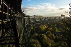 Kiel Canal Bridge (Kingmoor Klickr) Tags: maeshbahn marshrailway schleswigholstein hochdonn germany westerland sylt hamburg 245202 db kiel canal bridge hochbrücke nordostsee kanal