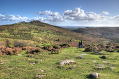 Sharp Tor, Dartmoor (Baz Richardson (trying to catch up - again!)) Tags: devon dartmoor sharptor tors hills