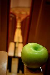 Suis napok/ School days (Szab_Photography) Tags: normal school days apple green mediummacro university szeged inhungary indoor lecture focus
