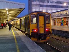 150216 Plymouth (Marky7890) Tags: gwr 150216 class150 sprinter 2p92 plymouth railway devon devonmainline train