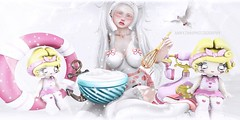 Pastry Desire (Annyzinh Oliveira) Tags: more curemore rewind 40s moon amore les sucreries de fairy ayashi the kawaii project