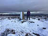 47 of 52 trig points (Ron Layters) Tags: 2017 ronlayters selfportrait 52trigpoints stantonmoor trigpoint moorplantations cold winter snow belowfreezing blasted moor heather gritstone ashovergrit clouds badweather weaksunlight pillar tp4911 fbs4151 peakdistrict peakdistrictnationalpark birchover bakewell derbyshire england unitedkingdom 52weeks 52 phonecamera iphone apple appleiphone6 selftimer tripod 10secondtimer weekfortyseven week47 47