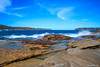 Happy Monday! (edzwa) Tags: balmoral seascape landscape water longexposure sea rocks blue ocean harbour sydney wave