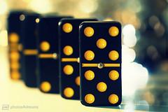 dominos (photos4dreams) Tags: murmeln2p4d memberschoice gamesorgamepieces macromondays spiele spiel spielzeug domino steine