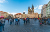 Old Town Square and Church of Our Lady before Týn (fotofrysk) Tags: oldtownsquare staremesto churchofourladybeforetýn church spires architecture buildings square cobblestones tourists easterneuropetrip prague praha czechrepublic sigmaex1020mmf456dchsm nikond7100 201709226617