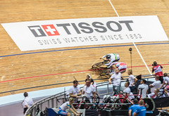Banking 1 (Meredith Lewis) Tags: manchester mateuszrudyk greatermanchester england gb greatbritain velodrome cyclist britain sprint bicycles unitedkingdom bicycle matthewglaetzer 2017tissotucitrackcyclingworldcupmanchester cycling europe uk nationalcyclingcentre
