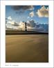 lighthouse. (Tom Baetens) Tags: sky sea sand dutch nederland strand beach lighthouse vuurtoren breskens wolken clouds