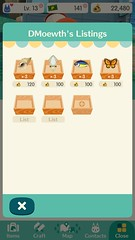 Animal Crossing: Pocket Camp (UX Examples (Mobile Games)) Tags: 2017 animalcrossingpocketcamp nintendo iphone ui mobile collections shop