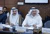From left: Mr Mohsen Aldossari, Manager of the Health Division GCC and Dr Ahmed Bin Abdel Ghafar, Director of Strategic Planning Department GCC, participating in the Fourth Annual IAG Meeting at Mashyakhet Al Azhar  Al Sharif on 22 November 2017. (IAG for Polio Eradication) Tags: iag islamic advisory group al azhar polio