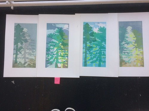 """Screenprinted tree set • <a style=""""font-size:0.8em;"""" href=""""http://www.flickr.com/photos/61714195@N00/38767897511/"""" target=""""_blank"""">View on Flickr</a>"""