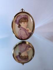 Miniature (Smiffy'37) Tags: smileonsaturday onthemirror miniature portrait art fineart reflection sundaylights