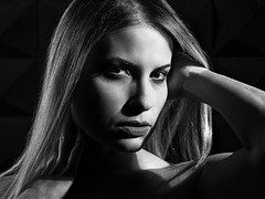 the magic view clairobscur portrait (sonofphotography) Tags: sonofphotography tsphotoart bw color portrait light shade photo grace fashion beauty art lady facebook instagram influencer contrast white black hasselblad x1d clairobscur