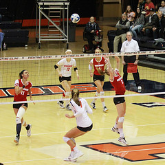 Set (RPahre) Tags: set volleyball illinois universityofillinois universityofwisconsin huffhall huff champaign b1g bigten sydneyhilley jacquelinequade tionnawilliams