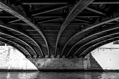 Paris | France - Under Pont au Double (Marcus Frank) Tags: notre dame paris france seine bridge pont double bw
