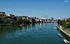 Vistas del Rin (Nati C.) Tags: suiza basilea hdr nik rin río agua barcas ciudad paisaje