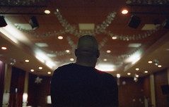 Lloyd Luther (fraser_west) Tags: 35mm film analog canon lloydluther musicvideo bts filmisnotdead rap hiphop uk wetheconspirators cinematic cinestill 800t