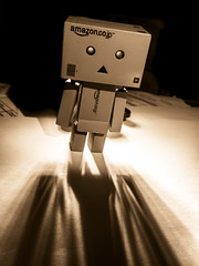 Shadow play. (CWhatPhotos) Tags: cwhatphotos danbo light amazon toy pics pictures picture image images copy right foto fotos that have with which contain photo photos ask dark shadow shadows shadowed alone