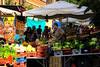 mercato di via del pigneto, anno 2007 (gaudenzio_) Tags: roma lazio italia pigneto mercato bancarella frutta verdura canon 350d
